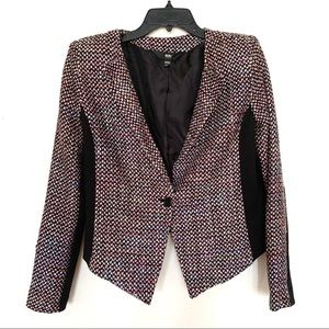 Mossimo Tweed tailored blazer size M